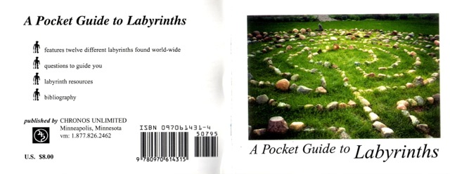 Front and Back Covers of A Pocket Guide to Labyrinths copy
