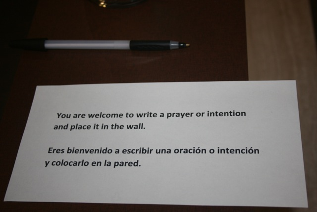Invitation to Write an Intention