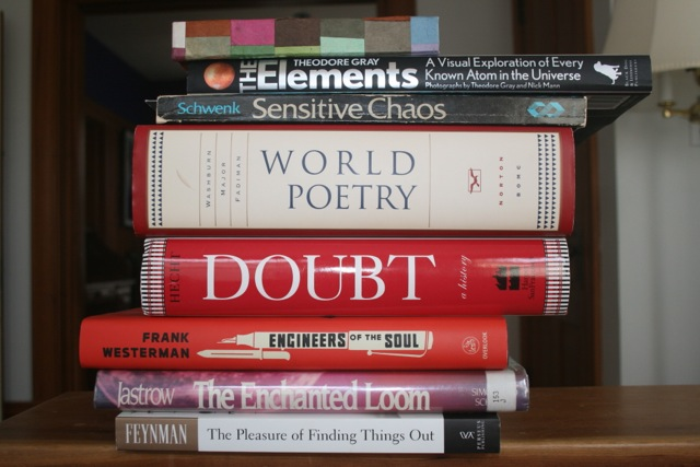 Spine Poem One
