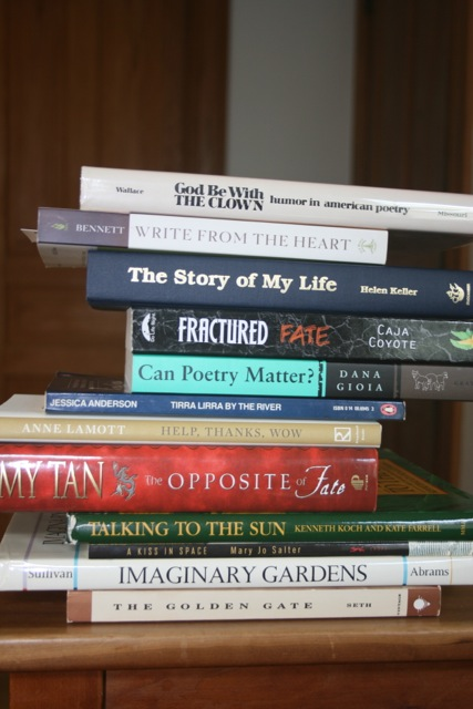 Spine Poem Two