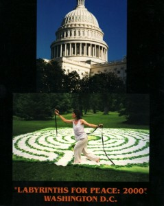 labyrinths for peace post card