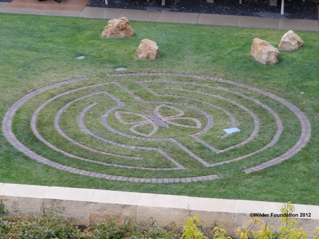 Wilder Foundation Labyrinth  - The Amherst H. Wilder Foundation is a nonprofit community organization serving children, families and older adults in the east metro since 1906.