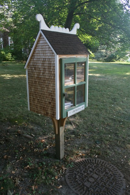 Little Library--St. Olaf Avenue