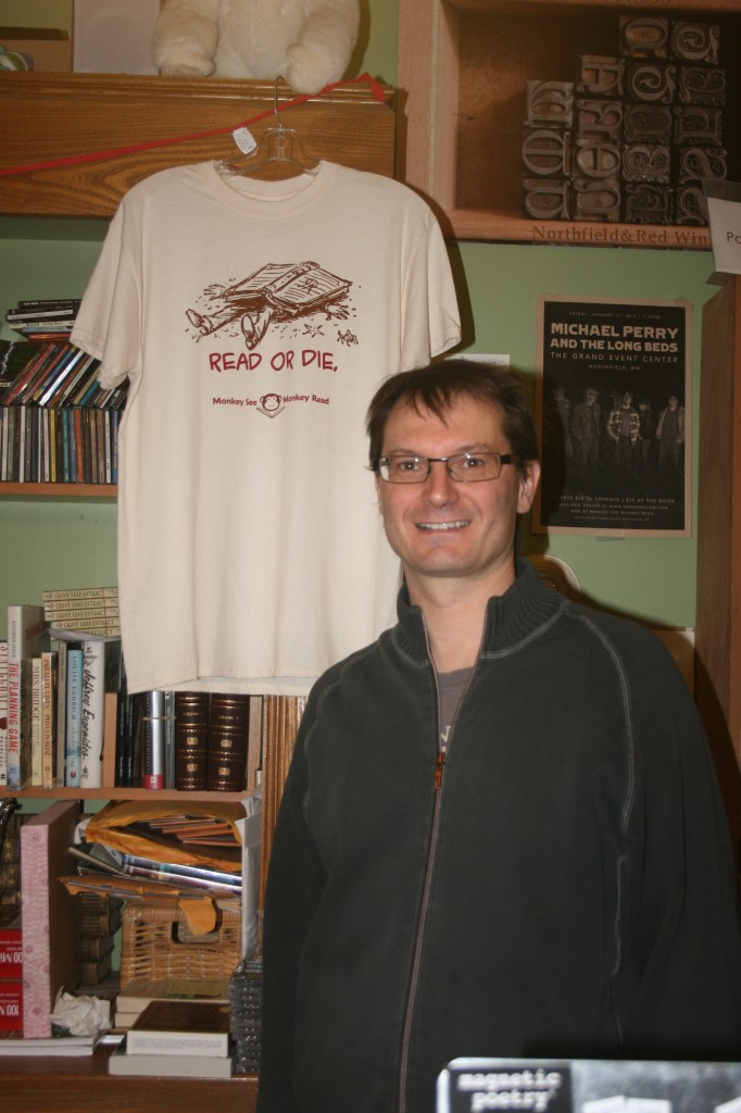 Veteran Bookseller Jerry Bilik at Monkey See, Monkey Read