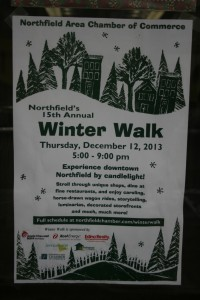 Winter Walk Sign