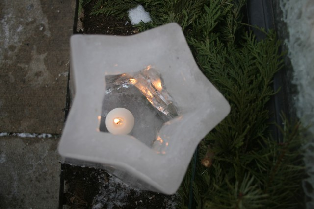 Winter Walk Star Luminary 2