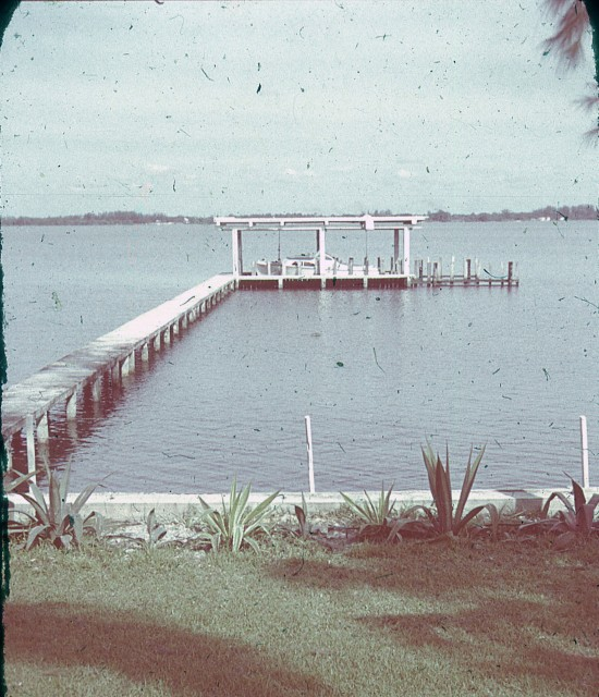 Dock and Boat House, Pressel Palm Pointe