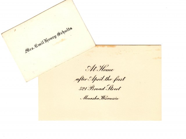 Kate Formal Cards