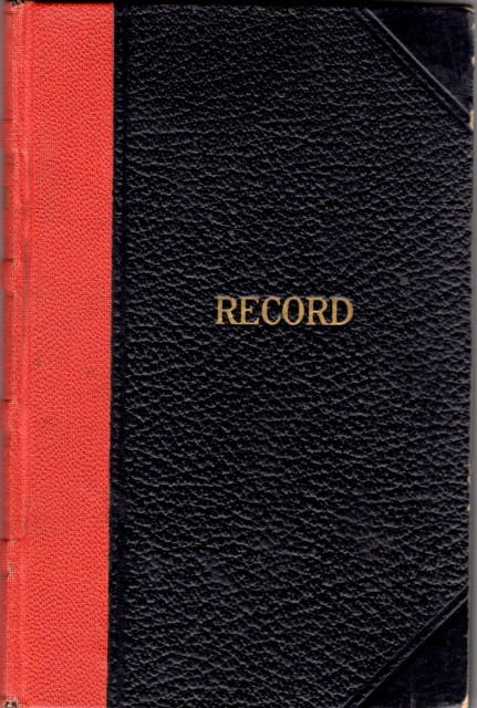 Kate Record Book
