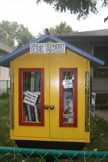 Narrow Little Library 2