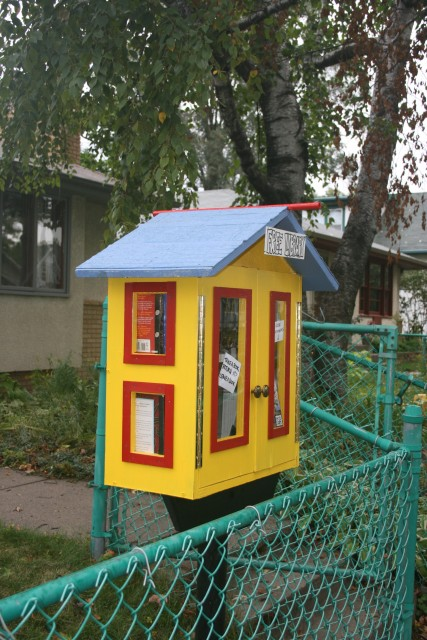 Narrow Little Library