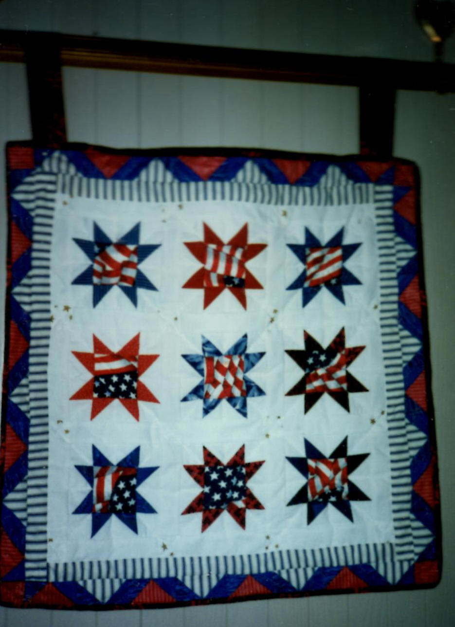 Quilt Stars and Stripes