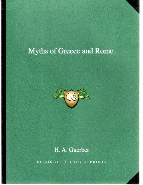 Greek Mythology Gruerber