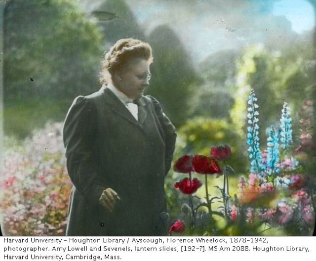 new heavens for old by amy lowell Amy lowell had a long-time affair with an actress named ada dywer russell, star of stage and screen it was for and about her lowell wrote 'summer rain.