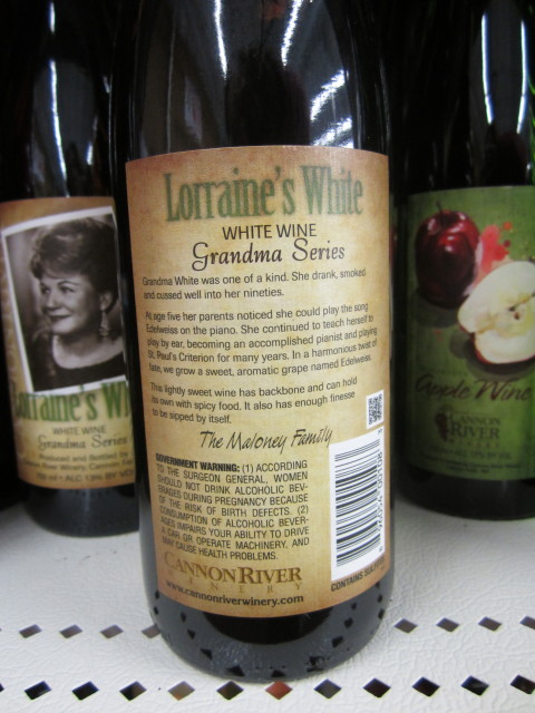 Wine Lorraine and Story