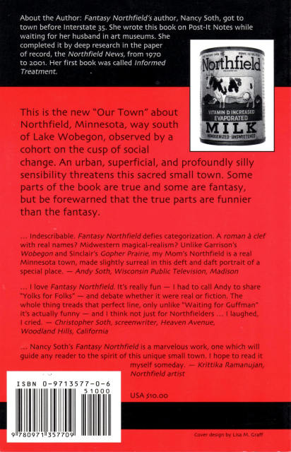 Nancy Soth Fantasy Back Cover