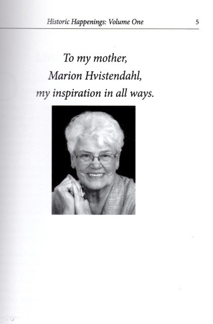 Susan's Book Dedication