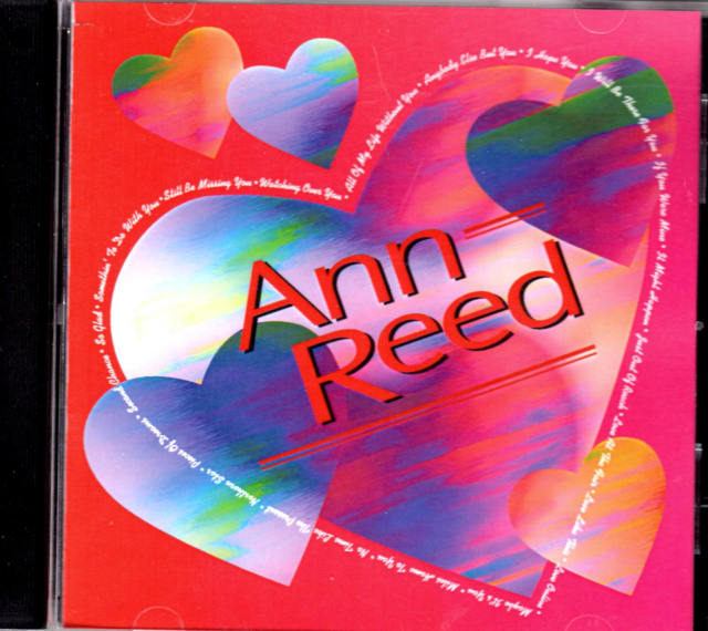 Valentine Cover CD Ann Reed