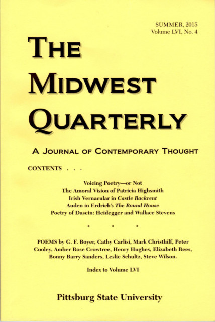 The Midwest Quarterly Cover