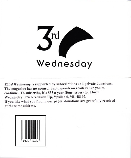 Third Wednesday Back Cover INSERT